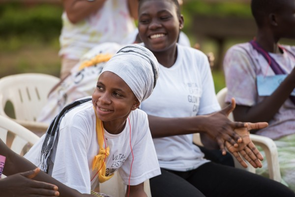 There's meaning behind the camps' names: GLOW is an acronym for Girls Leading Our World and BRO is an acronym for Boys Respecting Others. (Photo credit: Peace Corps)