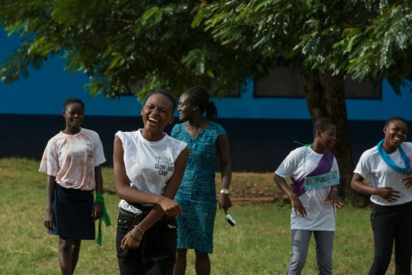 Each Peace Corps volunteer sponsored at least one girl or boy to partake in the week-long camp. The camps are designed to cover a variety of topics including, but not limited to, girls empowerment, gender equality, HIV/AIDS, and malaria. (Photo credit: Peace Corps)