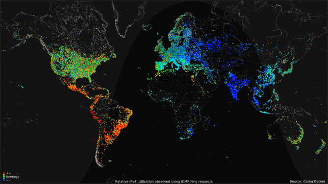 One 8 maps that will change the way you look at africa one global internet usage gumiabroncs