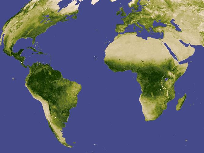 Africa On World Map | Jackenjuul
