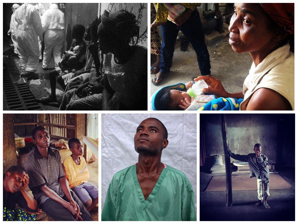 Ebola Collage