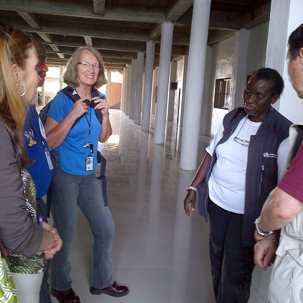 CDC learns about the plans to reopen a hospital in Monrovia, Liberia.