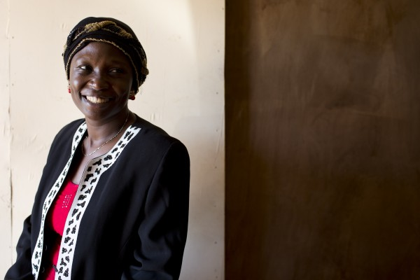 Habiba Corodhia Mohamed, 36, Outreach Manager for the Fistula FoundationÕs Action on Fistula program in Kenya poses for a photograph in her office in the town of Mumias in western Kenya on April 29, 2015. Habiba works at the local level to educate communities about fistula and help identify and refer women for treatment. She also trains other community health workers in western Kenya to do the same. She is the founder of Women and Development Against Distress in Africa (WADADIA), a community based organization working in the western region of Kenya that provides psycho-social support, economic empowerment and reproductive health to women in need.