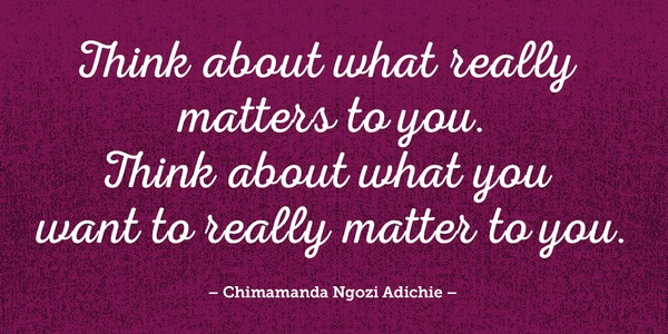 Chimamanda Ngozi Adichie Quotes Adorable ONE 48 Quotes To Inspire You Everyday ONE