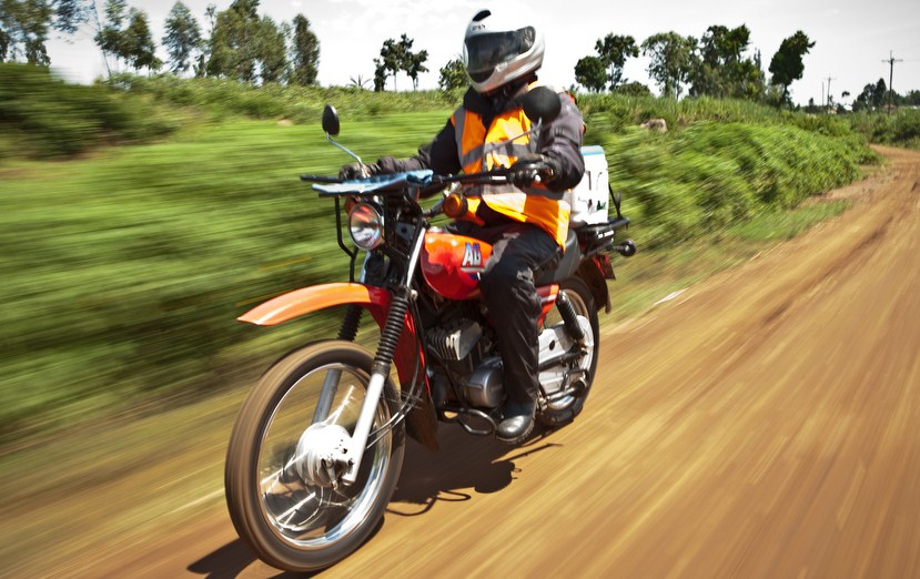 Riders for Health's Kenya Programme, shot by Tom Oldham, lit by Tom Andrew October 2011