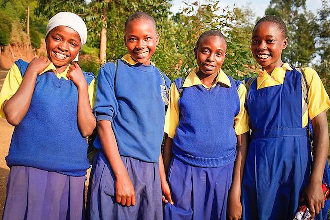 Kenya girls