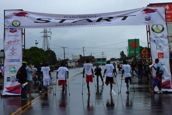 The 2013 Liberia Marathon. (Photo credit: Erin Hohlfelder)