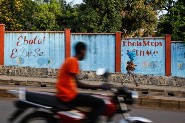 Life is returning to the streets of Freetown in Sierra Leone. The Ebola outbreak—which claimed nearly 4,000 lives nationally and led to a ban on public gatherings—was declared over by the World Health Organization on Saturday. (Photo credit: Simon Davis/DFID)