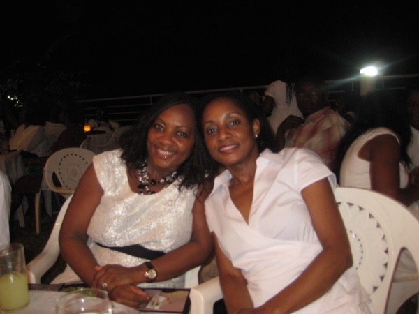 Left to right, Drs. Ameyo and Ama Adadevoh