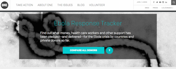 The online, interactive tracker developed to hold leaders accountable.