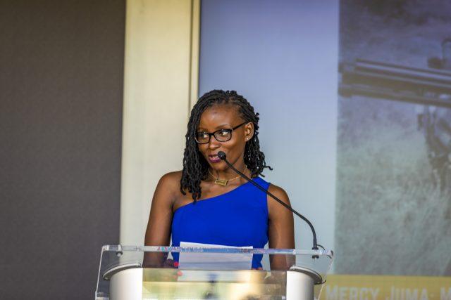 Award-winning journalist Mercy Juma is telling Africa's stories